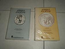 AFRIQUE ANCIENNE - Tome 1 et 2 - D'AVEZAC et DE LA MALLE - Edit BOUSLAMA BE