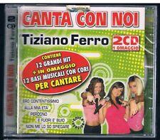 CANTA CON NOI TIZIANO FERRO COVER VERSION 2 CD F.C.SIGILLATO!!!