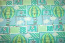 Baby Boy Flannel Blanket The Adventure Begins Receiving Swaddling  Handmade