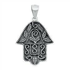 Hamsa Pendant Sterling Silver 925 Best Price Jewelry Pendant Height 20 mm