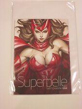 2014 SDCC SUPERBELLE #1 SKETCHBOOK SIGNED BY STANLEY ARTGERM LAU