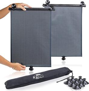 tapasol para auto tapa sol de carro protector solar auto pack 2 facil instalar