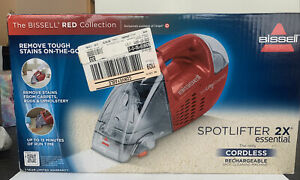 BISSELL.spotlifter 2x essential cordless,rechargable hand held. cleaner.