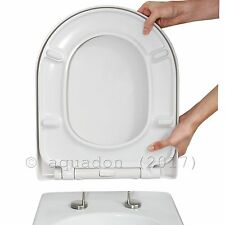 D Shape Luxury Top Fix Quick Release Soft Close Toilet Seat