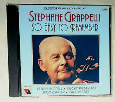 STEPHANE GRAPPELLI SO EASY TO REMEMBER CD