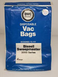 4 Pack - Bissell Sweepmaster Vacuum Bags 3000 Series