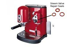 KitchenAid Espresso Coffee Machine Gasket Steam Valve Wand seal set Repair kit