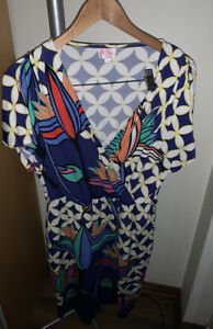 Leona Edminston Ruby Dress Euc Size 2