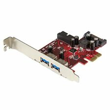 Startech.com Pexusb3s2ei Contrôleur USB Rouge
