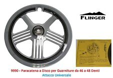 Paracatena a Disco Universale x Guarniture 46-48 T per Bici 20-24-26 Fat Bike