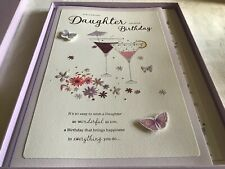 Large Boxed Birthday Card For A Special Daughter