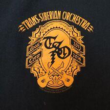 TSO TRANS-SIBERIAN ORCHESTRA CONCERT TOUR Production Crew TEE T SHIRT Sz XL