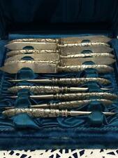 Vintage 1847 Rogers & Bros Silver Plated Knives and Picks Flatware Silverware