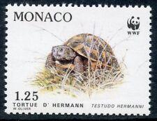 STAMP / TIMBRE DE MONACO N° 1806 ** FAUNE / LA TORTUE D'HERMANN