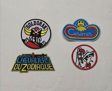 ECUSSON PATCH GOLDORAK CHEVALIERS DU ZODIAQUE LUKY LUKE CASIMIR