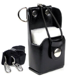 PU Leather Case Bag for Motorola GP344 GP328plus GP338plus GP388 EX500 EX600-XLS