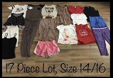 Girls Clothing Lot, 17 Items, Size 14/16, Old Navy, Arizona, Cat & Jack, Disney