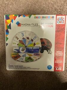 Magna Tiles The Grouchy Lady Bug New in Package 16 Piece