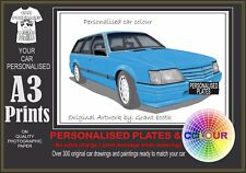 84-86 VK WAGON A3 ORIGINAL PERSONALISED PRINT POSTER CLASSIC RETRO CAR
