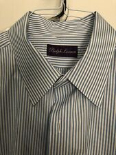 Ralph Lauren Purple Label Dress Shirt 17.5 EUC