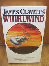 James Clavell's Whirlwind Board Game Military Risk Type Vintage 1986 New Sealed