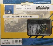 ESU 54400 LokSound V4.0 DCC Sound Decoder 8 Pin NMRA & speaker MODELRRSUPPLY-com