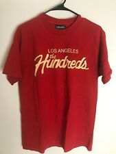 The Hundreds Los Angeles Tshirt Mens Size Medium M Red