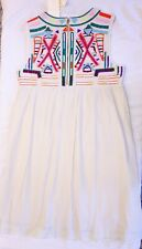New Gryphon Sunny Dress With Embroidery From Anthropologie Size Large