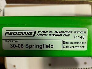 Redding Type S Neck Sizing Die 30-06 Springfield
