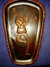 NEW ORLEANS Trumpet Horn Player Jazz Street Musician Copper Sculpture ❤️ ts17j