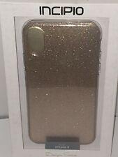 IPHONE X / XS  INCIPIO Protective Case Design Series Classic Rose Glitter & T GL