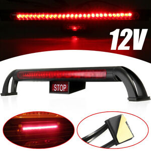 12V 24 LED Universal Car Third 3RD Rear Tail Light High Mount Stop Brake Lamp