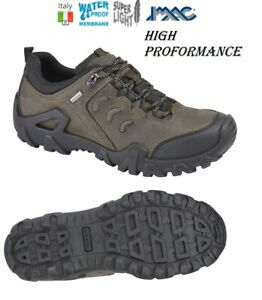 IMAC FREELAND  Hi-Performance Brown Oily Leather Outdoor Trail Hiking Shoes