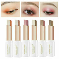 Two-tone Eyeshadow Stick Shimmer Gradient Pearlescent Eye Shadow Makeup Tool CA