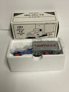 First Gear 1:34 Navajo 1951 Ford F-6 Dry Goods Van New in Open Box!