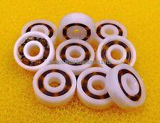 (4 PCS) 695 (5x13x4 mm) Plastic Nylon POM Ball Bearing Bearings 5*13*4