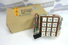 Vintage Western Electric 35AU3A 84SP9 Keypad Dialer * Brown * (NEW in BOX)