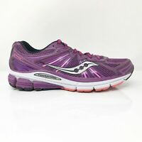 Saucony Womens Omni 13 S10247-2 Purple Running Shoes Lace Up Low Top Size 7.5