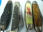 SHEFFIELD IMPERIAL CASE VINTAGE Pocket knives LOT IN MIXED CONDITION