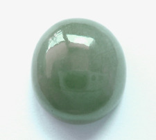 7.86ct GENUINE Oval Cab Glossy Green Jadeite !