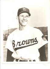 Original 8x10 St. Louis Browns team issued photo Marty Marion