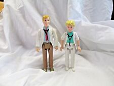 Playskool Dollhouse doll lot Female Doctor and Male Doctor 1994 family man woman