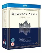 DOWNTON ABBEY ITV TV Series Complete Bluray Collection Boxset Season 1+2+3+4 New