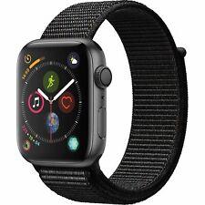 Apple Watch Series 4 44mm Smartwatch GPS Only Gray Case Black Loop MU6E2LL/A