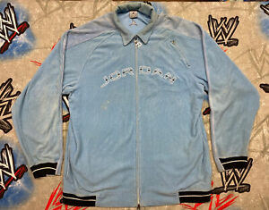 Jordan North Carolina Blue Sweater Zip Up Corduroy Velour Jacket XL Melo