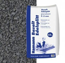 (0,40€/1kg) Basalt Edelsplitt 2-5 mm 25 kg Sack