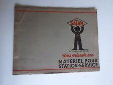 catalogue : SATAM vous présente son materiel pour station service vers 1930 1940