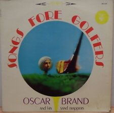 Oscar Brand and His Sand Trappers Song For Golfers EKS-7237 33rpm 071917DBE