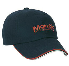 Mainship Red, White, and Blue Sandwich bill hat