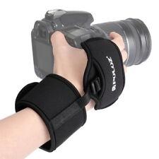 "DSLR Camera Hand Grip Wrist Band Strap 1/4"" Screw for Nikon Canon Pentax Sony"